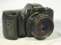 ' OM101 NICE SET ' Olympus OM101 SLR Camera +  50mm PF Lens £14.99